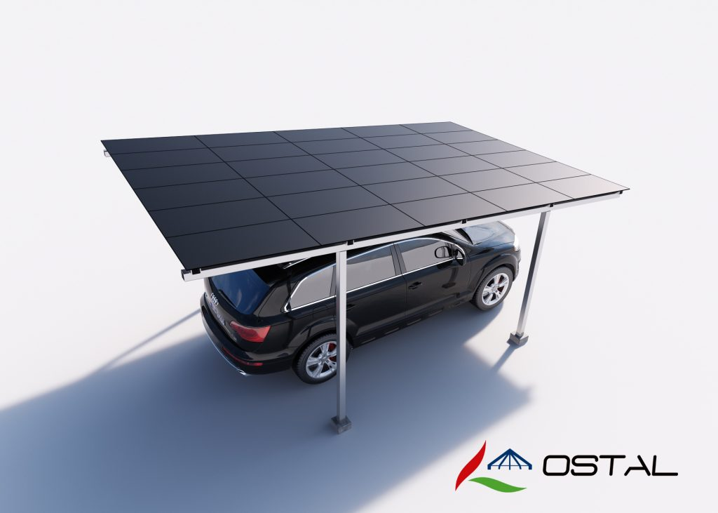 Carports mit pv und bedachung roximplast for Carport bedachung